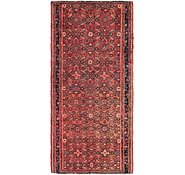 Link to 3' 10 x 8' 3 Hossainabad Persian Runner Rug