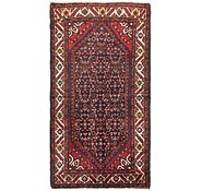 Link to 3' 6 x 6' 6 Hossainabad Persian Rug