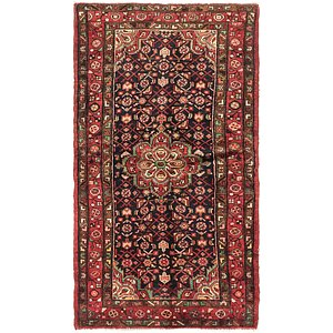 Link to 3' 5 x 6' 3 Hossainabad Persian Rug item page