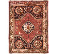 Link to 4' x 5' 4 Ghashghaei Persian Rug