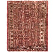 Link to 3' 4 x 4' Shiraz Persian Rug