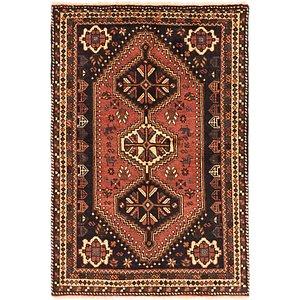 3' 9 x 5' 9 Ghashghaei Persian Rug