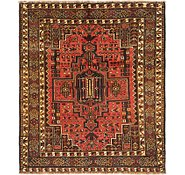 Link to 4' x 4' 10 Ghashghaei Persian Square Rug