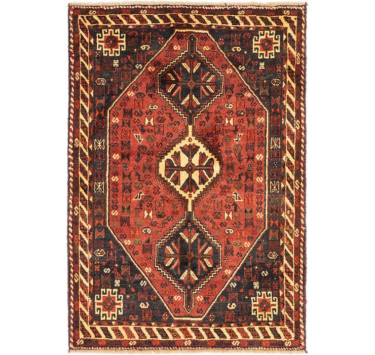 4' x 6' Ghashghaei Persian Rug