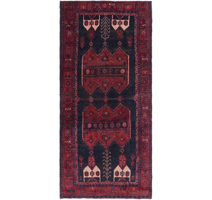 4' 4 x 9' 9 Sirjan Persian Runner Rug