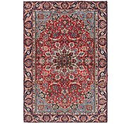 Link to 4' 6 x 6' 5 Mashad Persian Rug
