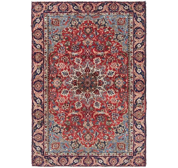 4' 6 x 6' 5 Mashad Persian Rug