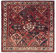 Link to 5' 6 x 5' 7 Bakhtiar Persian Square Rug