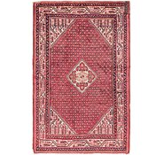 Link to 4' 4 x 6' 9 Hossainabad Persian Rug