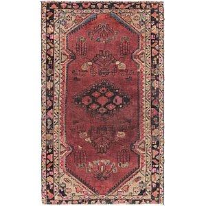 Link to 4' 7 x 7' 10 Hamedan Persian Rug item page