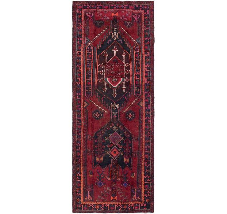 4' 10 x 13' 8 Sirjan Persian Runner Rug