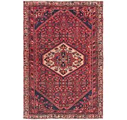 Link to 4' 4 x 6' 8 Hossainabad Persian Rug