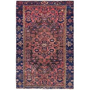 4' 2 x 6' 4 Hamedan Persian Rug