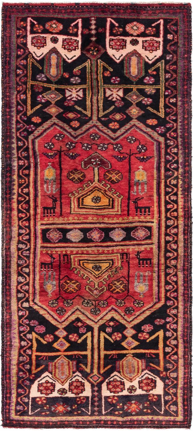 Red 3 X 7 Sirjan Persian Runner Rug Persian Rugs Handknotted Com