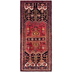 3' x 7' Sirjan Persian Runner Rug