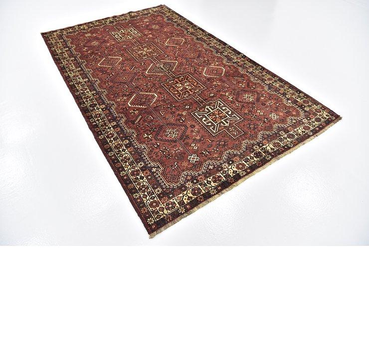 5' 4 x 8' 5 Ghashghaei Persian Rug