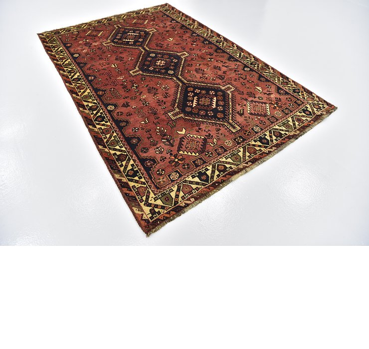 5' 7 x 8' 3 Ghashghaei Persian Rug