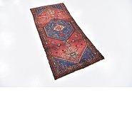 Link to 2' 8 x 5' 10 Hamedan Persian Runner Rug