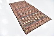 Link to 4' 6 x 9' 5 Hamedan Persian Runner Rug