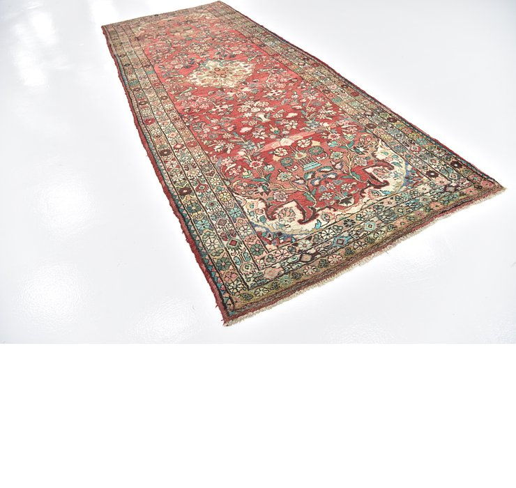 4' 8 x 11' 10 Borchelu Persian Runner...