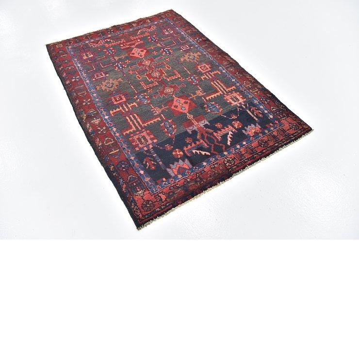 3' 8 x 5' 3 Hamedan Persian Rug