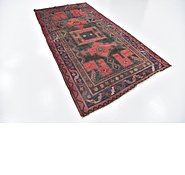 Link to 4' 9 x 9' 5 Zanjan Persian Runner Rug