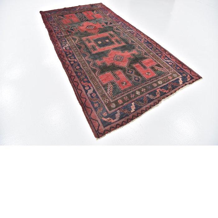 4' 9 x 9' 5 Zanjan Persian Runner Rug