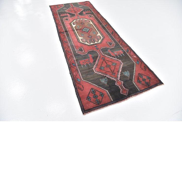 3' 6 x 9' 8 Zanjan Persian Runner Rug