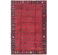 Link to 4' 6 x 7' Shiraz Persian Rug