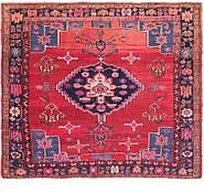 Link to 5' 4 x 6' Shiraz Persian Square Rug