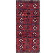 Link to 3' 10 x 8' 7 Balouch Persian Runner Rug