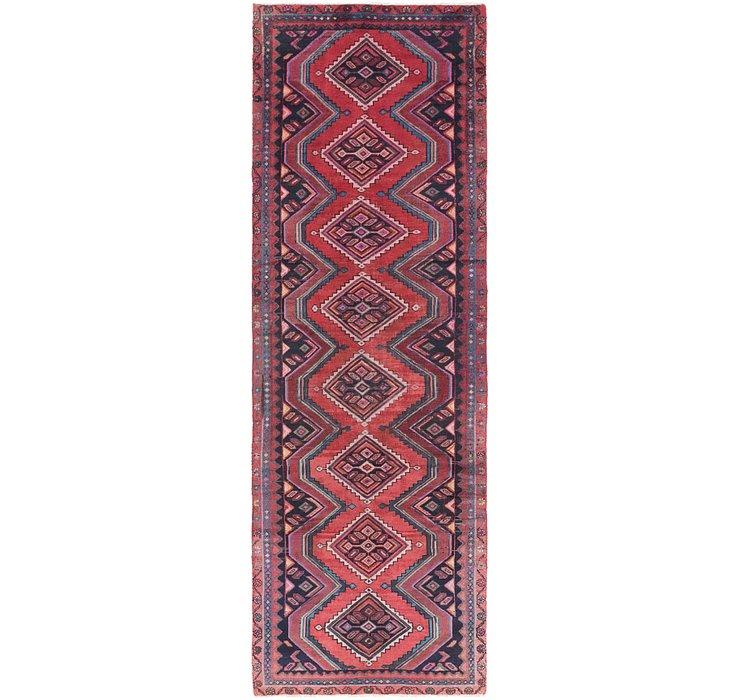 102cm x 310cm Chenar Persian Runner Rug