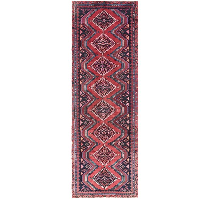 3' 4 x 10' 2 Chenar Persian Runner Rug