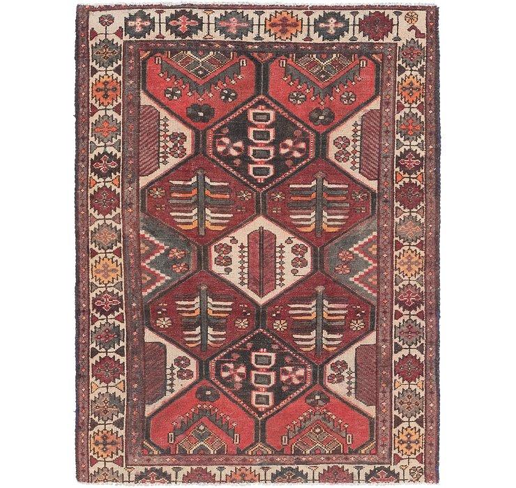 4' 6 x 6' Bakhtiar Persian Rug