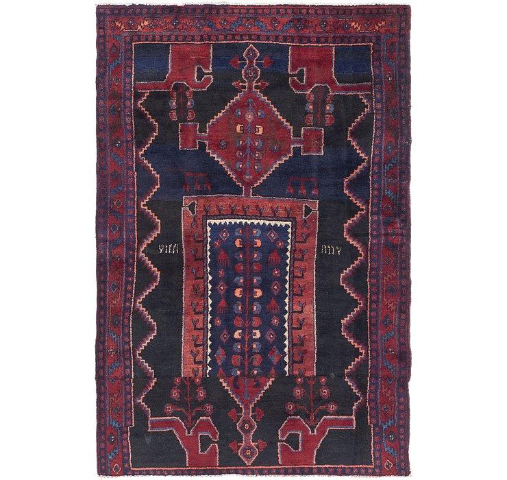 4' 6 x 7' Sirjan Persian Rug