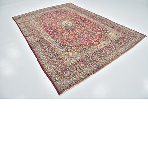 Link to 7' 9 x 11' 4 Kashan Persian Rug item page