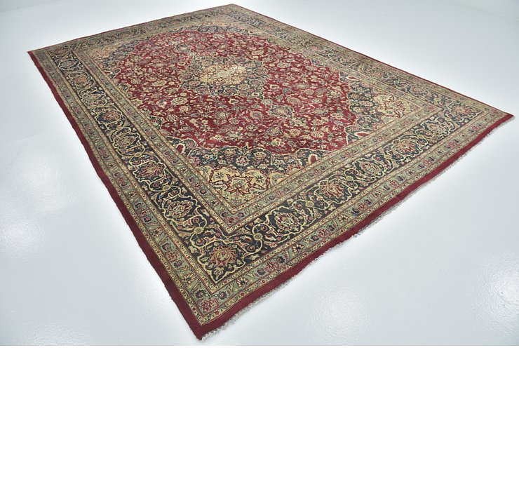 HandKnotted 8' 4 x 11' 10 Mashad Persian Rug
