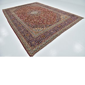Link to 9' 8 x 13' 7 Kashan Persian Rug item page