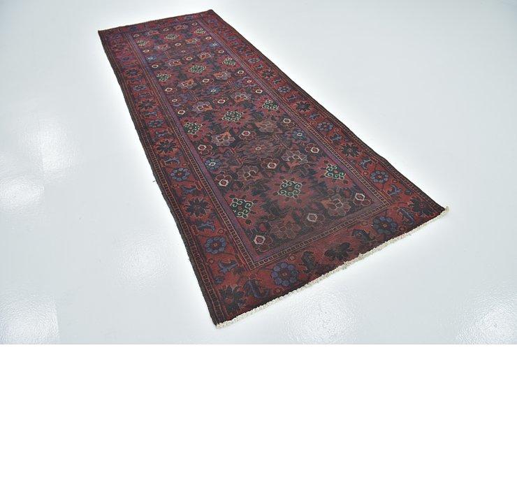3' 9 x 9' 10 Ferdos Persian Runner Rug