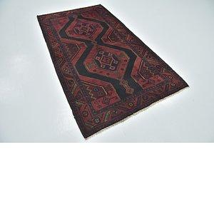 4' 3 x 7' 6 Sirjan Persian Rug