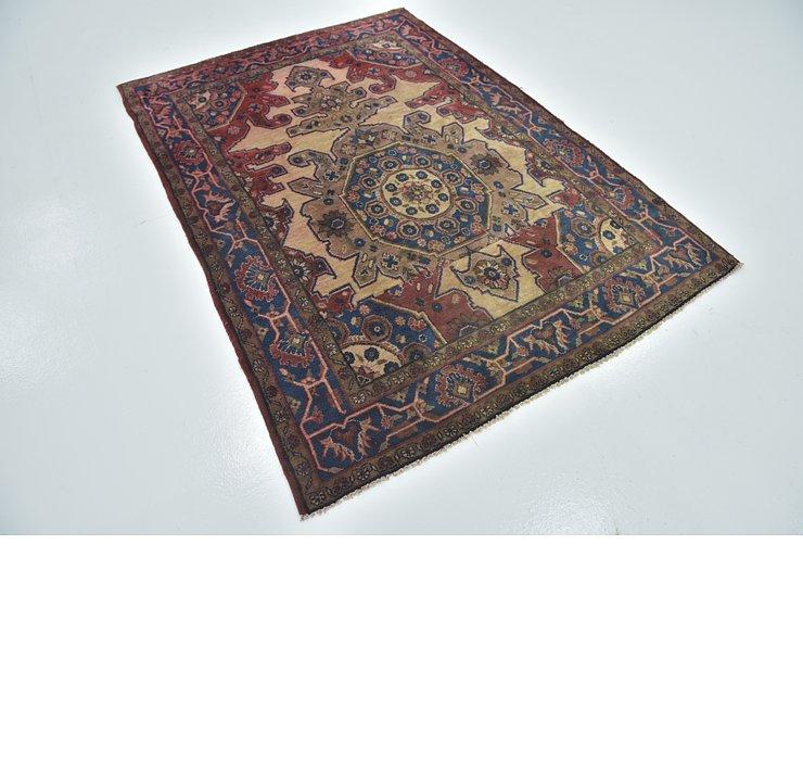 4' 10 x 6' 10 Hamedan Persian Rug