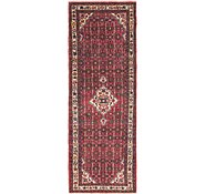 Link to 107cm x 300cm Hossainabad Persian Runner Rug
