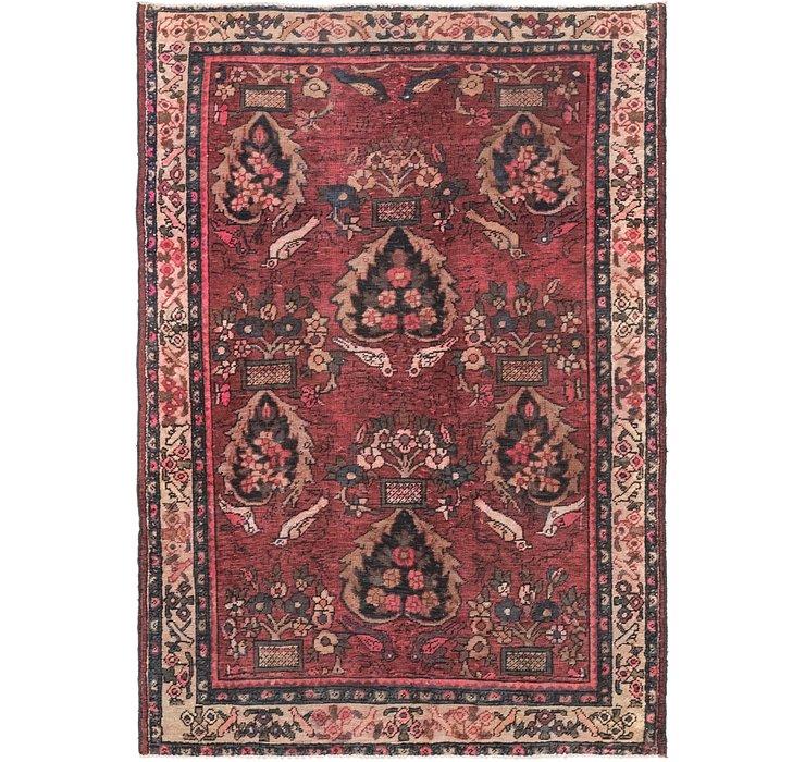 4' 7 x 6' 6 Tabriz Persian Rug