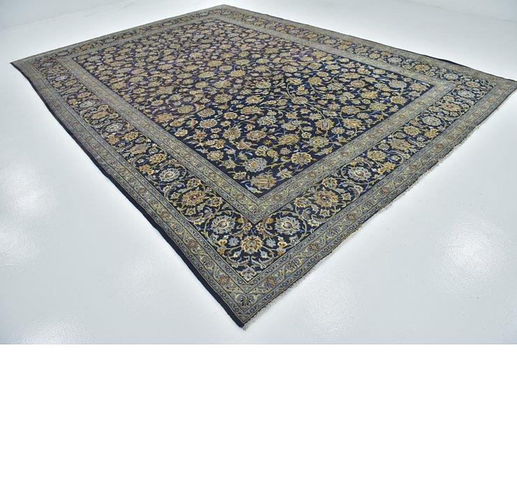 10' x 13' 9 Kashan Persian Rug