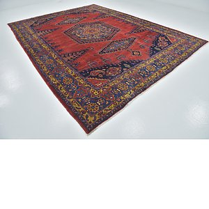 9' 6 x 12' 9 Viss Persian Rug