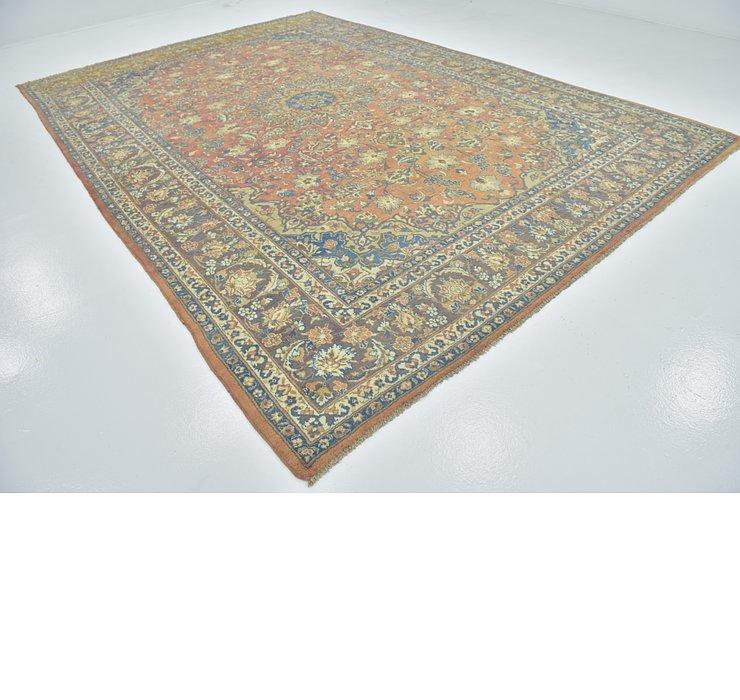 9' 9 x 13' 8 Isfahan Persian Rug