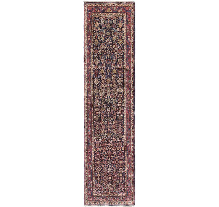 3' 3 x 12' 8 Malayer Persian Runner ...