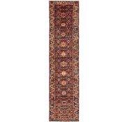 Link to 97cm x 385cm Hamedan Persian Runner Rug