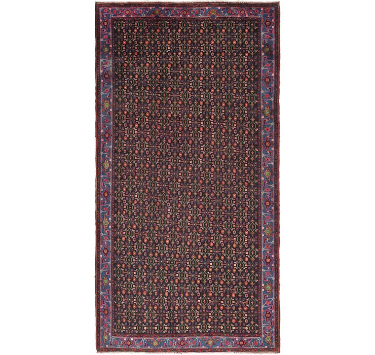 5' x 9' 6 Sanandaj Persian Runner...