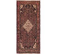 Link to 4' 10 x 10' Hossainabad Persian Runner Rug